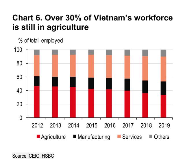 HSBC: Việt Nam đã thành công trong việc chuyển đổi thành nền sản xuất công nghệ chủ chốt ảnh 1