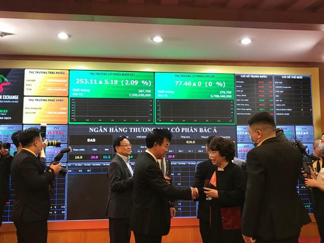 Cổ phiếu BAC A BANK (BAB) tăng kịch trần trong ngày chào sàn HNX ảnh 2