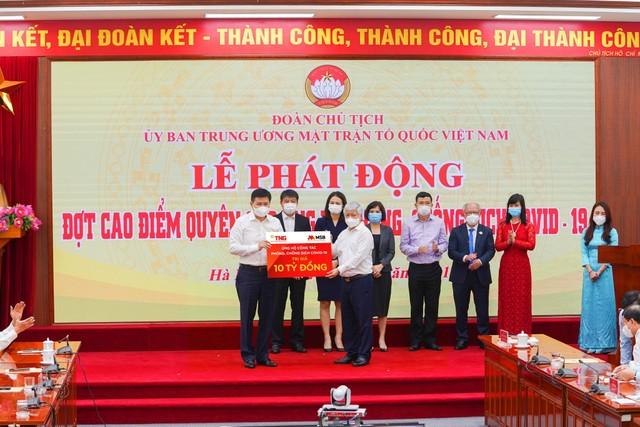 MSB và Tập đoàn TNG Holdings Việt Nam ủng hộ 30 tỷ đồng cho công tác phòng, chống dịch bệnh ảnh 1