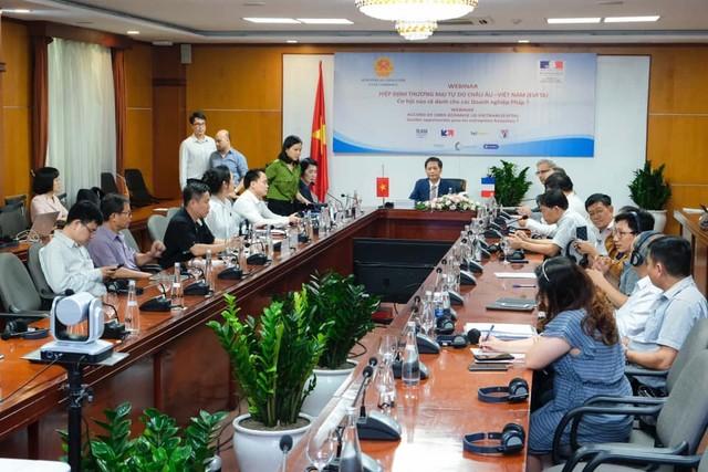 Doanh nghiệp Việt Nam và Pháp trao đổi cơ hội đầu tư - thương mại từ EVFTA ảnh 1