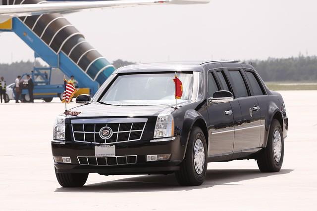 Những hình ảnh đầu tiên của Tổng thống Mỹ Donald Trump tại Việt Nam ảnh 12