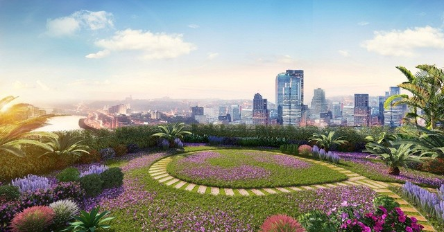 Lý giải sức hút của Imperia Sky Garden ảnh 1