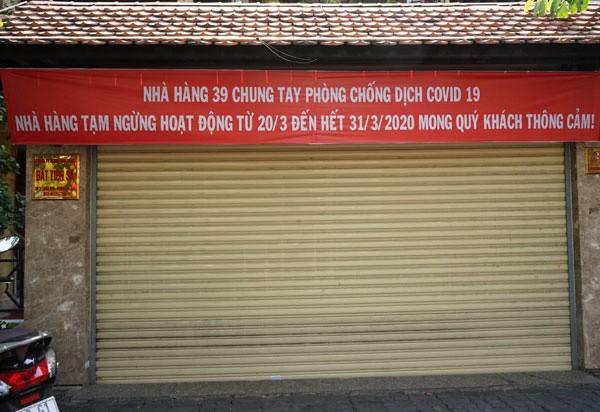 TP.HCM hướng dẫn chi tiết việc đóng cửa nhà hàng, quán ăn ảnh 1