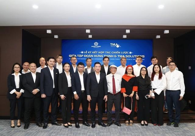 Tập đoàn Hưng Thịnh ký kết hợp tác chiến lược cùng Công ty Tma Solutions ảnh 2