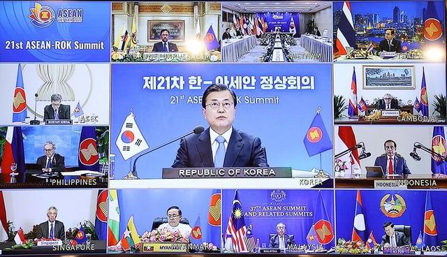 Hội nghị Cấp cao ASEAN 37: Thắt chặt quan hệ với các đối tác ảnh 6
