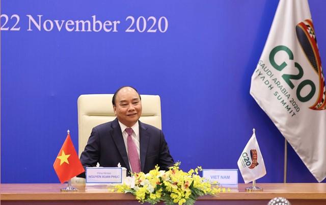 Thủ tướng đề nghị G20 hỗ trợ tài chính và công nghệ cho các nước đang phát triển ảnh 1