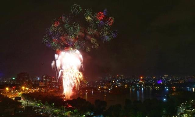 Mãn nhãn với màn pháo hoa chào năm mới Tân Sửu 2021 ảnh 5