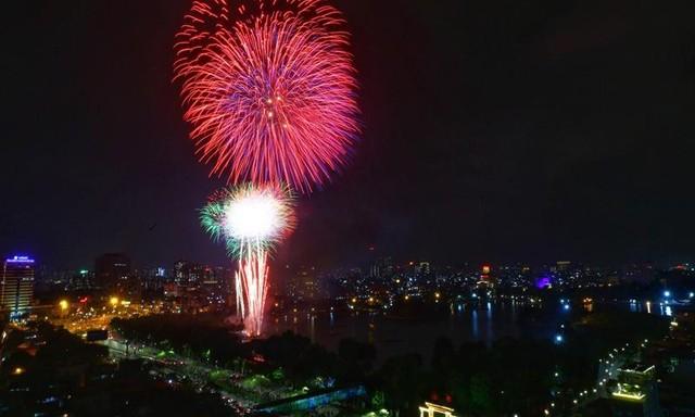 Mãn nhãn với màn pháo hoa chào năm mới Tân Sửu 2021 ảnh 8