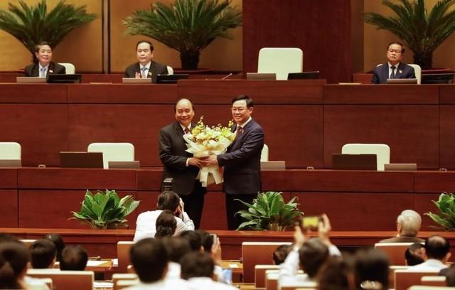 Quốc hội miễn nhiệm Thủ tướng Nguyễn Xuân Phúc để bầu làm Chủ tịch nước ảnh 1