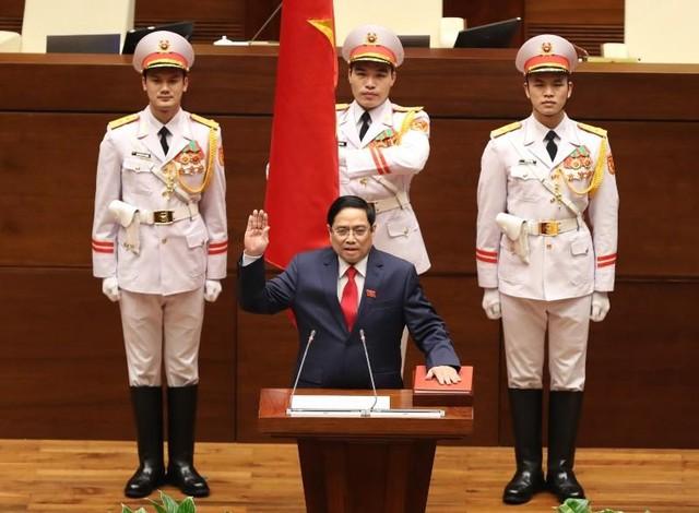 Ông Phạm Minh Chính tuyên thệ nhậm chức Thủ tướng ảnh 1