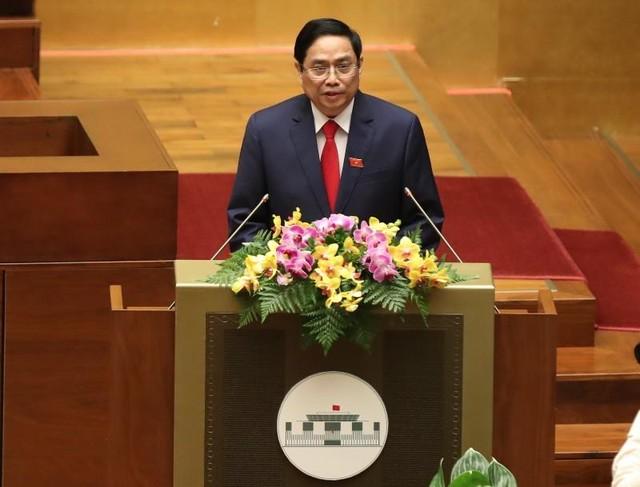 Ông Phạm Minh Chính tuyên thệ nhậm chức Thủ tướng ảnh 3