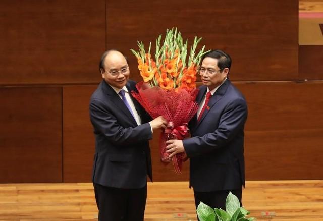 Ông Phạm Minh Chính tuyên thệ nhậm chức Thủ tướng ảnh 4