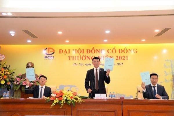 ĐHCĐ PCC1 2021 tập trung mục tiêu tăng trưởng lĩnh vực cốt lõi ảnh 1