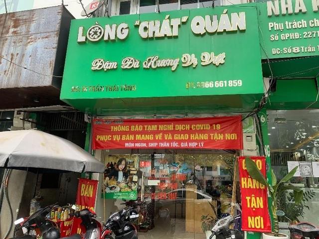 Hà Nội: Nhà hàng ăn, uống cơ bản chấp hành tốt quy định chỉ bán mang về ảnh 4