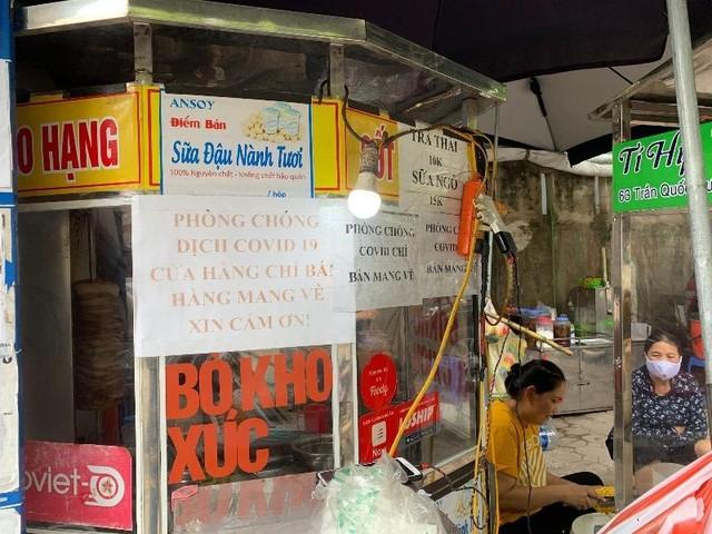 Hà Nội: Nhà hàng ăn, uống cơ bản chấp hành tốt quy định chỉ bán mang về ảnh 6