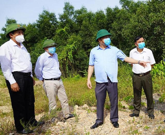 Đẩy nhanh tiến độ Dự án đường Hùng Vương kết nối Khu kinh tế Đông Nam Quảng Trị ảnh 1