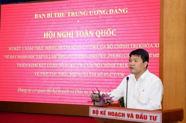 Bộ Kế hoạch và Đầu tư quán triệt tư tưởng, đạo đức, phong cách Chủ tịch Hồ Chí Minh ảnh 3