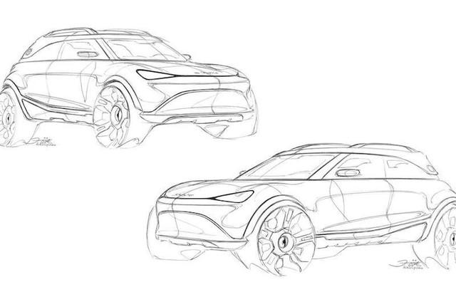 Smart ra mắt SUV điện vào tháng 9 tới, kích thước tương tự Mini Countryman ảnh 1