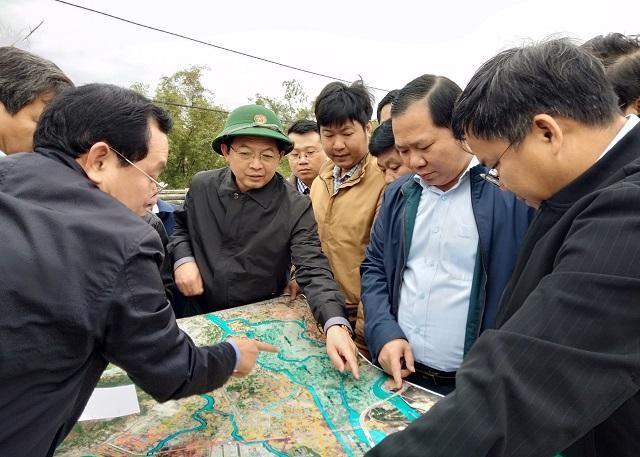 Bình Định chi gần 300 tỷ đồng tiêu thoát lũ sông Dinh (Quy Nhơn) ảnh 1