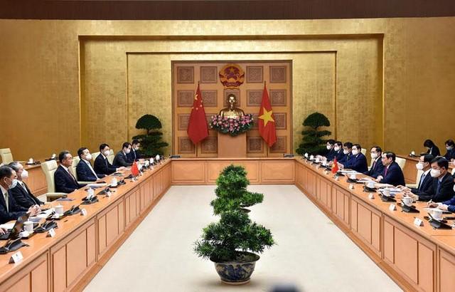 Thủ tướng đề nghị Trung Quốc phối hợp giải quyết dứt điểm vướng mắc tại các dự án đầu tư ảnh 1