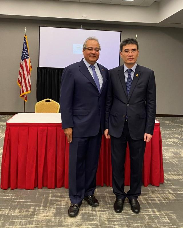 PV GAS và Công ty Đầu tư AES ký kết Thỏa thuận liên doanh thành lập và vận hành Công ty TNHH Kho cảng LNG Sơn Mỹ ảnh 2