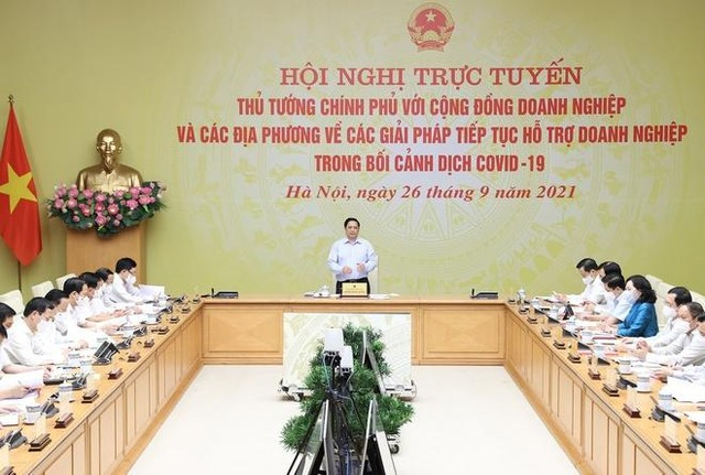 Bộ trưởng Nguyễn Chí Dũng: 6 giải pháp để doanh nghiệp thích ứng, bứt phá, tạo lập vị thế mới ảnh 1