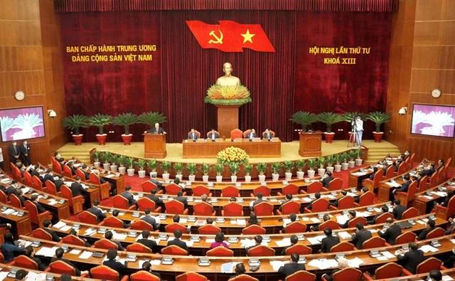 Khai mạc Hội nghị lần thứ 4 Ban Chấp hành Trung ương Đảng khóa XIII ảnh 2