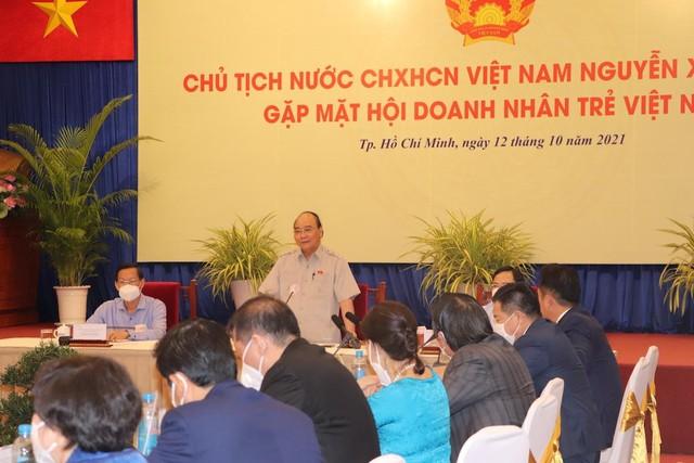 Chủ tịch nước Nguyễn Xuân Phúc: Có niềm tin là có tất cả ảnh 1