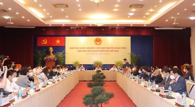 Chủ tịch nước Nguyễn Xuân Phúc: Có niềm tin là có tất cả ảnh 2