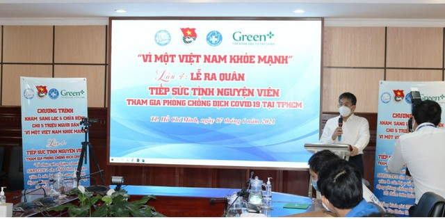 """Green+ triển khai """"Tiếp sức tình nguyện viên tham gia phòng chống dịch Covid-19 tại TP.HCM"""" ảnh 1"""