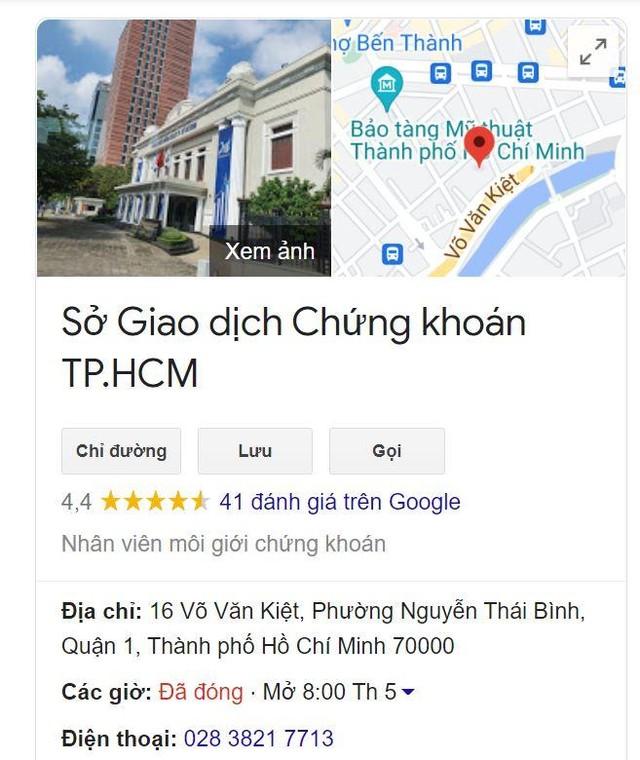 """1 sao biến mất, HOSE bất ngờ trở lại đánh giá 4.4 sao trên Google, bị """"bêu xấu"""" trên Wikipedia ảnh 7"""