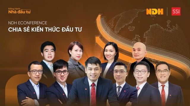 """NDH eConference – Chương trình tư vấn """"đặc quyền cho Nhà đầu tư của SSI"""" ảnh 1"""