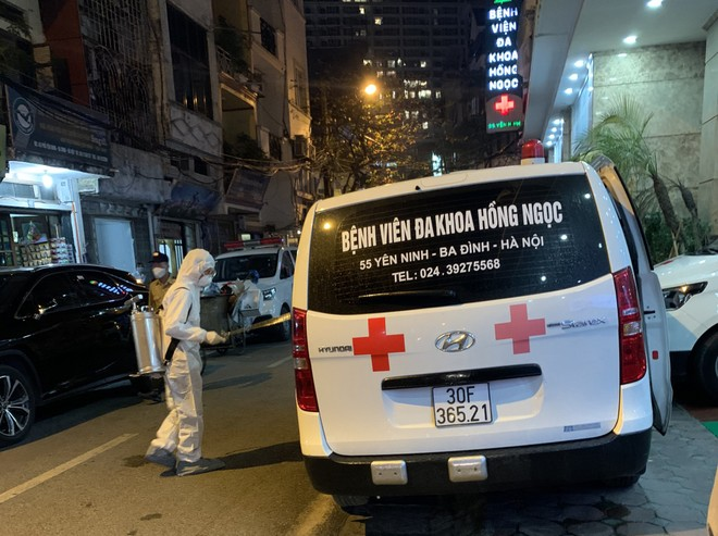 Bệnh viện Hồng Ngọc lên tiếng về trường hợp thứ 17 nhiễm Covid-19