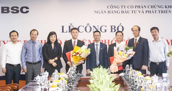 BSC vừa bổ nhiệm 2 phó tổng giám đốc