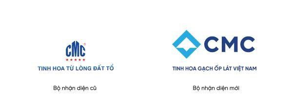Gạch ngói CMC thay đổi nhận diện thương hiệu