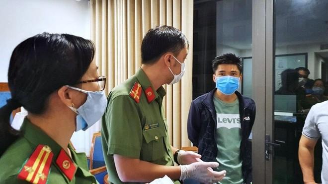 Lực lượng công an kiểm tra hành chính, phát hiện các đối tượng nhập cảnh, lưu trú trái phép trên địa bàn Ngũ Hành Sơn