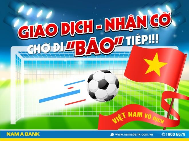 Nam A Bank tiếp lửa Olympic Việt Nam tại Asiad 2018