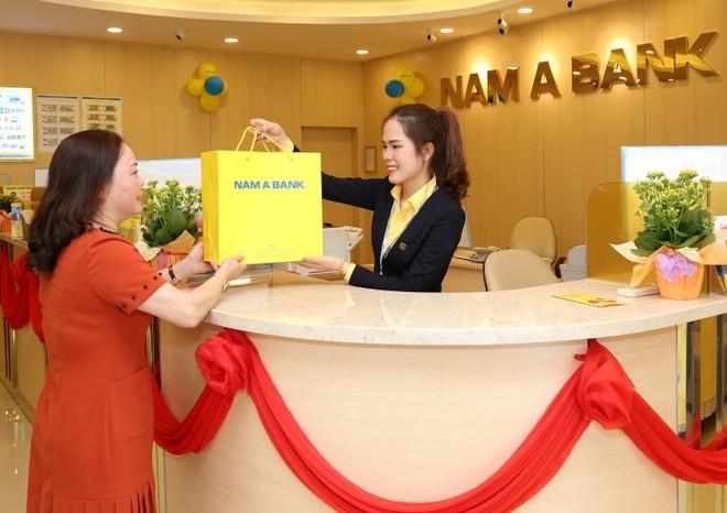 Nam A Bank tiếp tục mở mới nhiều phòng giao dịch tại các tỉnh trọng điểm