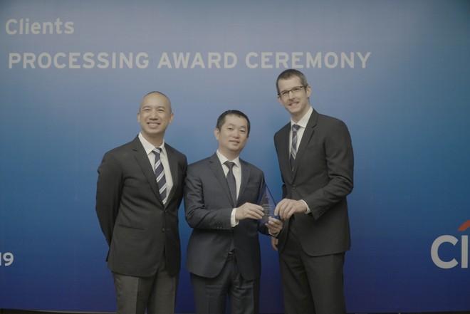 Eximbank nhận giải thưởng thanh toán quốc tế xuất sắc từ Citibank