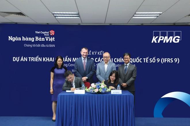 """Ngân hàng Bản Việt triển khai """"Chuẩn mực báo cáo tài chính Quốc tế số 9 – IFRS9"""""""