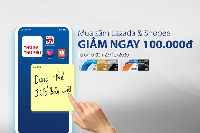 Ngân hàng Bản Việt ưu đãi cho chủ thẻ tín dụng JCB Bản Việt