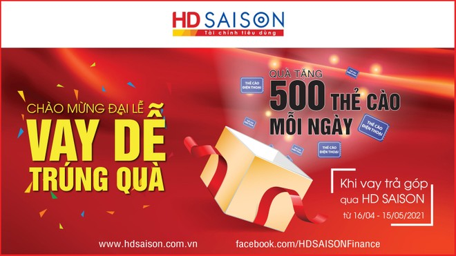 HD SAISON tưng bừng khuyến mại mừng đại lễ