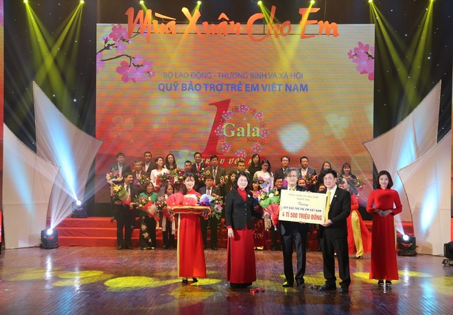 Bảo Việt Nhân thọ được Phó Chủ tịch nước vinh danh trong công tác bảo vệ và chăm sóc trẻ em 2016 ảnh 1