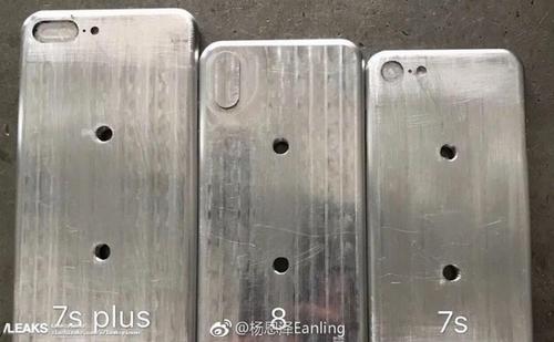 Ảnh khuôn mẫu được cho là của bộ ba iPhone mới.