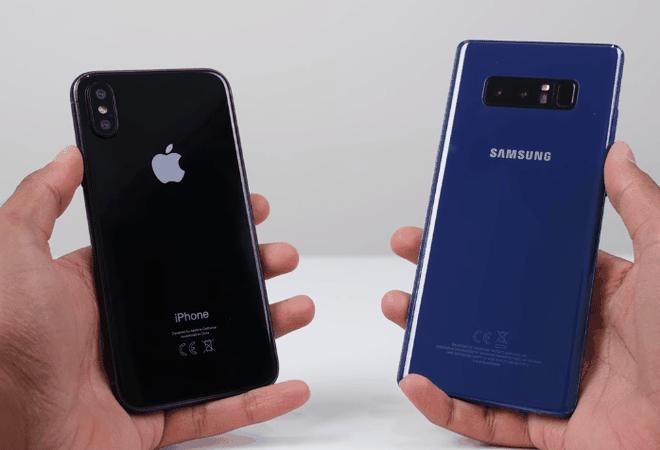 Giá smartphone ngày càng cao vì Galaxy Note8 và iPhone X