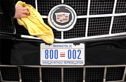 Biển số xe 'Quái thú' của Tổng thống Mỹ mang thông điệp gì? ảnh 1