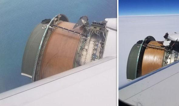 Động cơ vỡ giữa trời, máy bay United Airlines hạ cánh khẩn