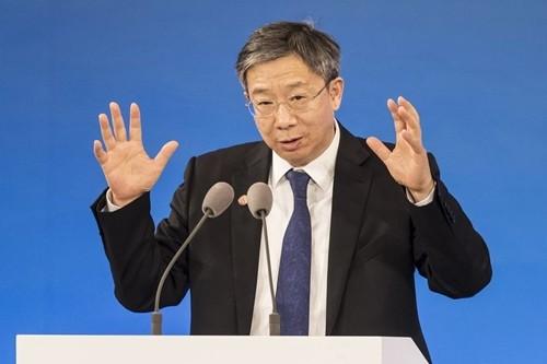 Thống đốc Ngân hàng trung ương Trung Quốc – Yi Gang. Ảnh: Yi Gang.