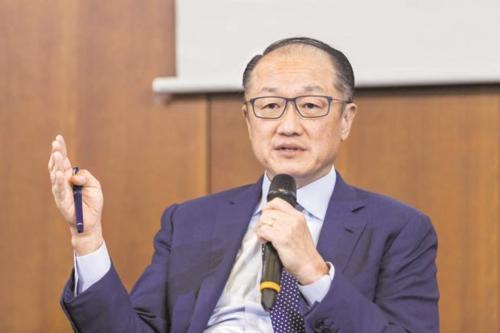 Cựu chủ tịch World Bank - Jim Yong Kim. Ảnh: Bloomberg