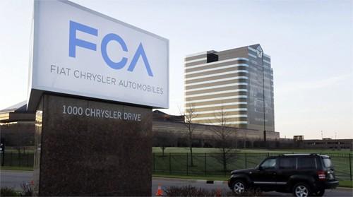 Trụ sở chính của Fiat Chrysler tại Auburn, bang Michigan, Mỹ. Ảnh: AP.